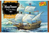 Lindberg-Mayflower-Plastic-Model-Sailing-Ship-Kit